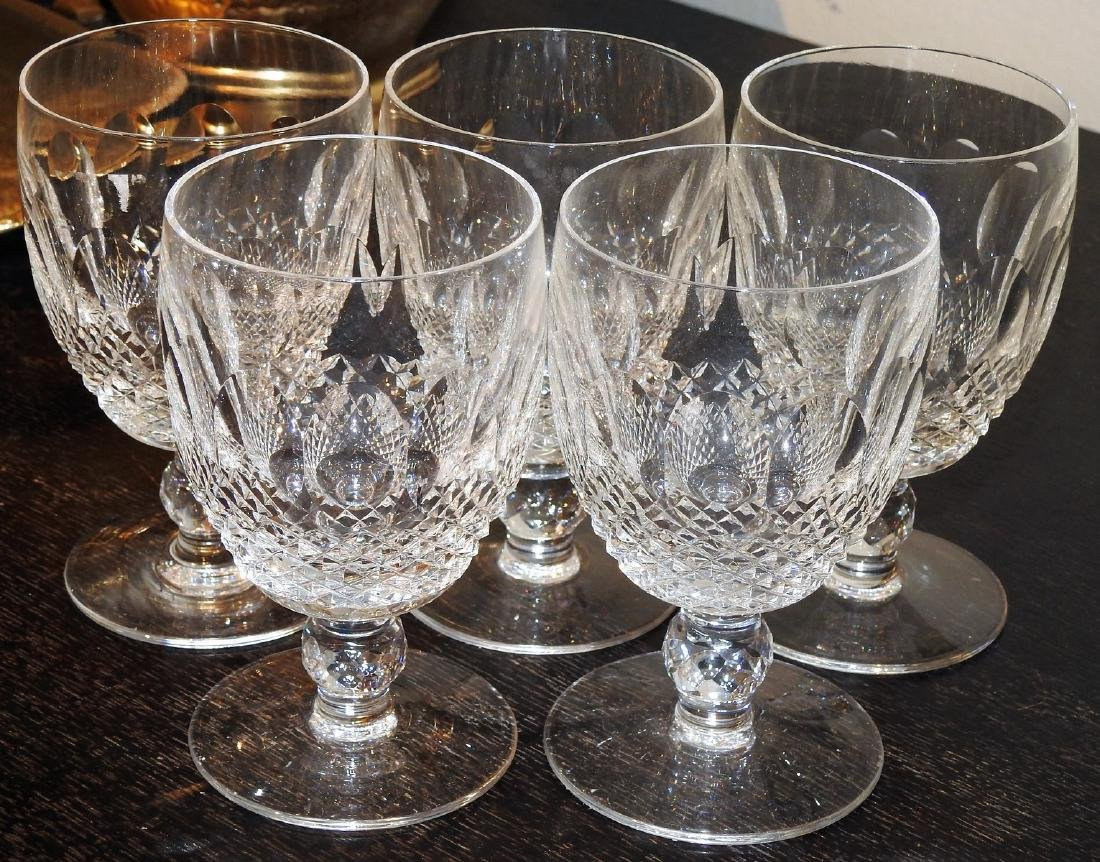 WATERFORD CRYSTAL LIQUOR GLASSES