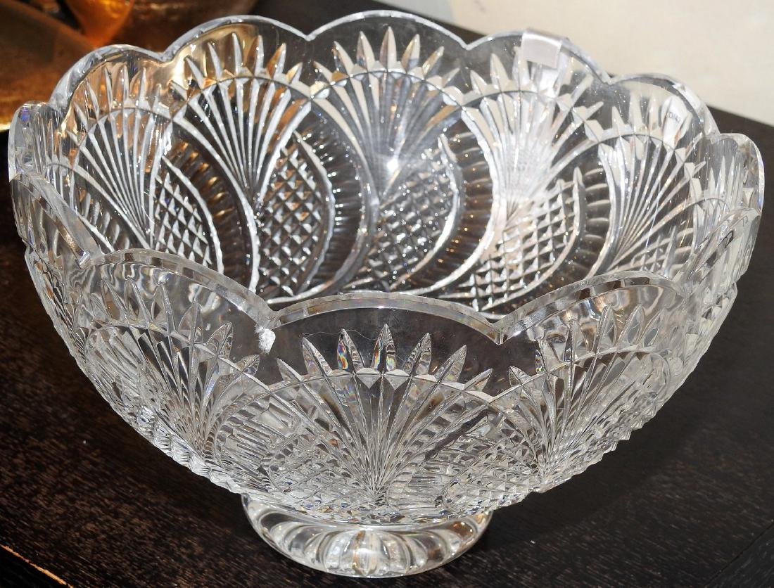 WATERFORD CRYSTAL GLASS BOWL