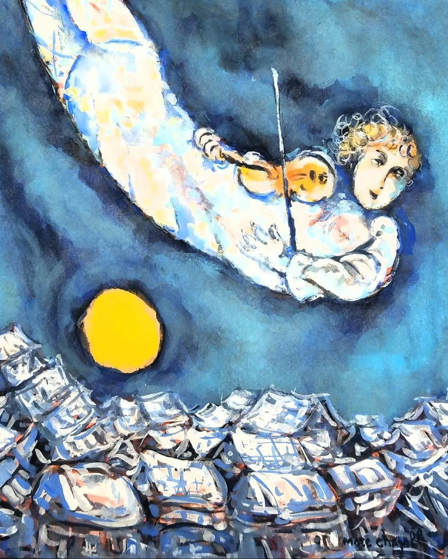 ATTRIBUTED TO Marc Chagall