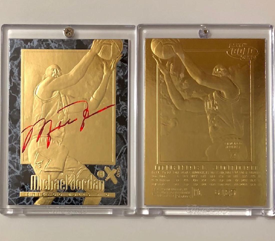 Mint MICHAEL JORDAN Signature Series 23kt Gold
