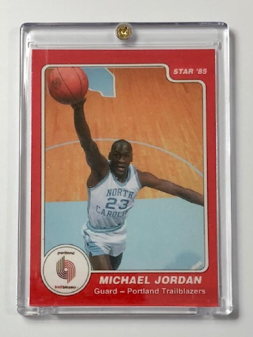 "MICHAEL JORDAN Text & Logo ""Error"" Rookie Basketball"