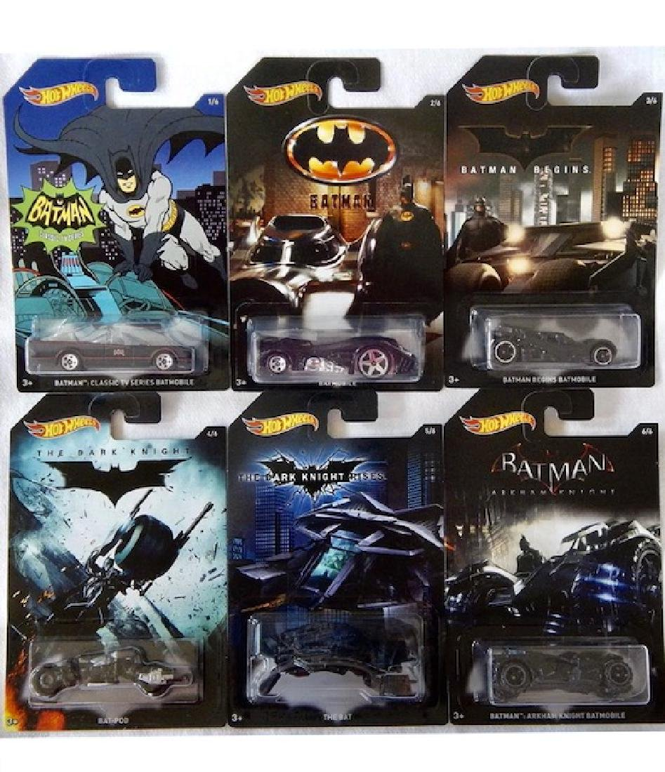 Sealed Limited Production BATMAN Hot Wheels Die-Cast