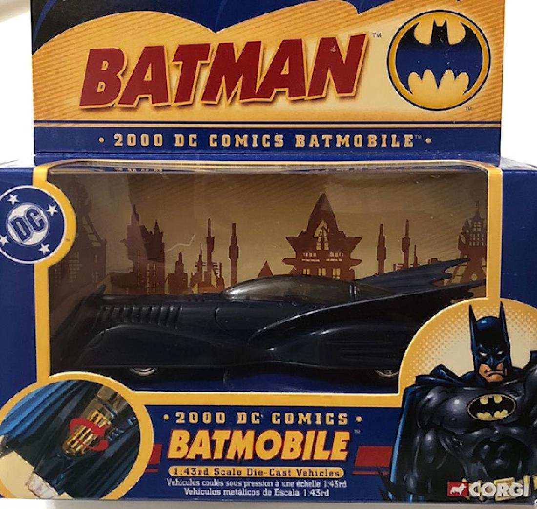 Vintage Sealed CORGI Toys Die-Cast BATMAN Batmobile