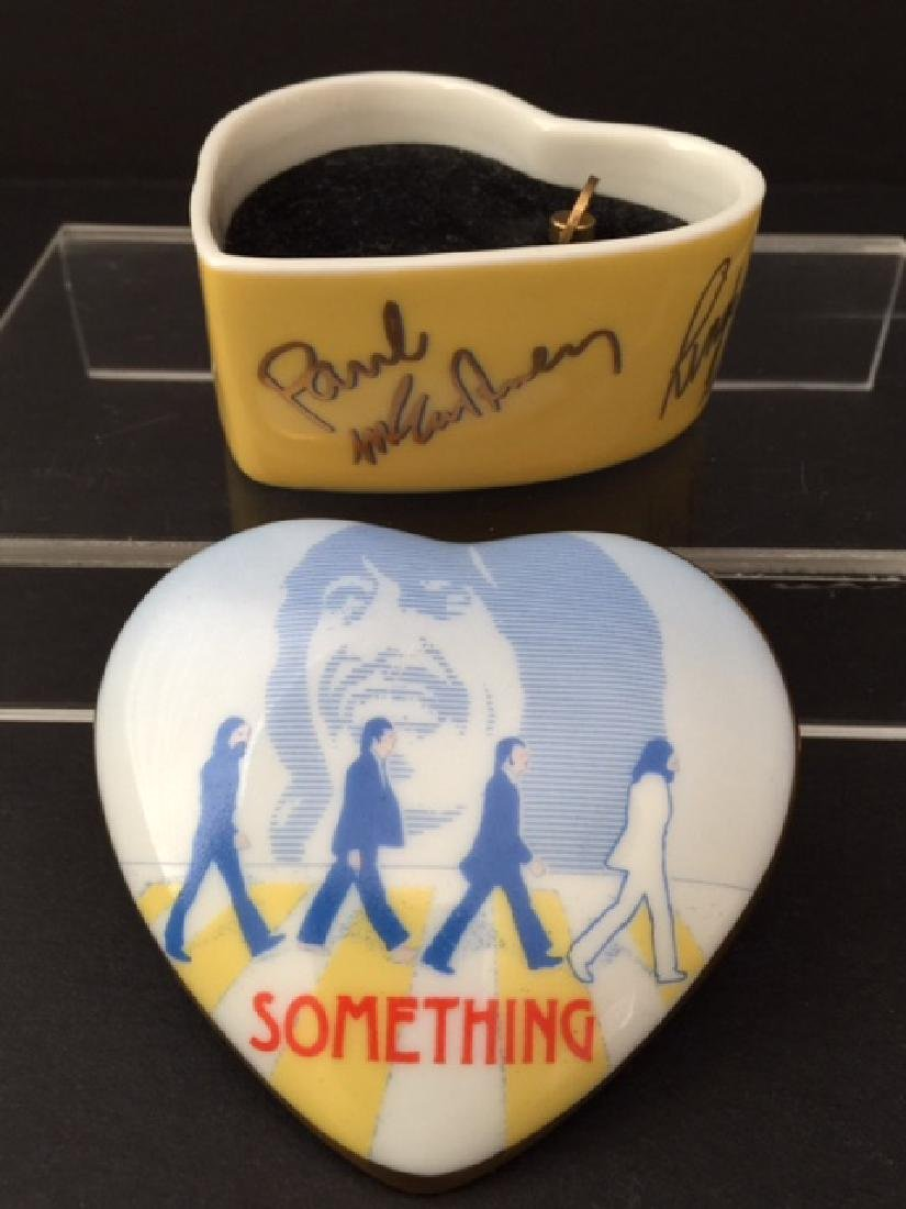 Vintage Authentic THE BEATLES Porcelain Working Music