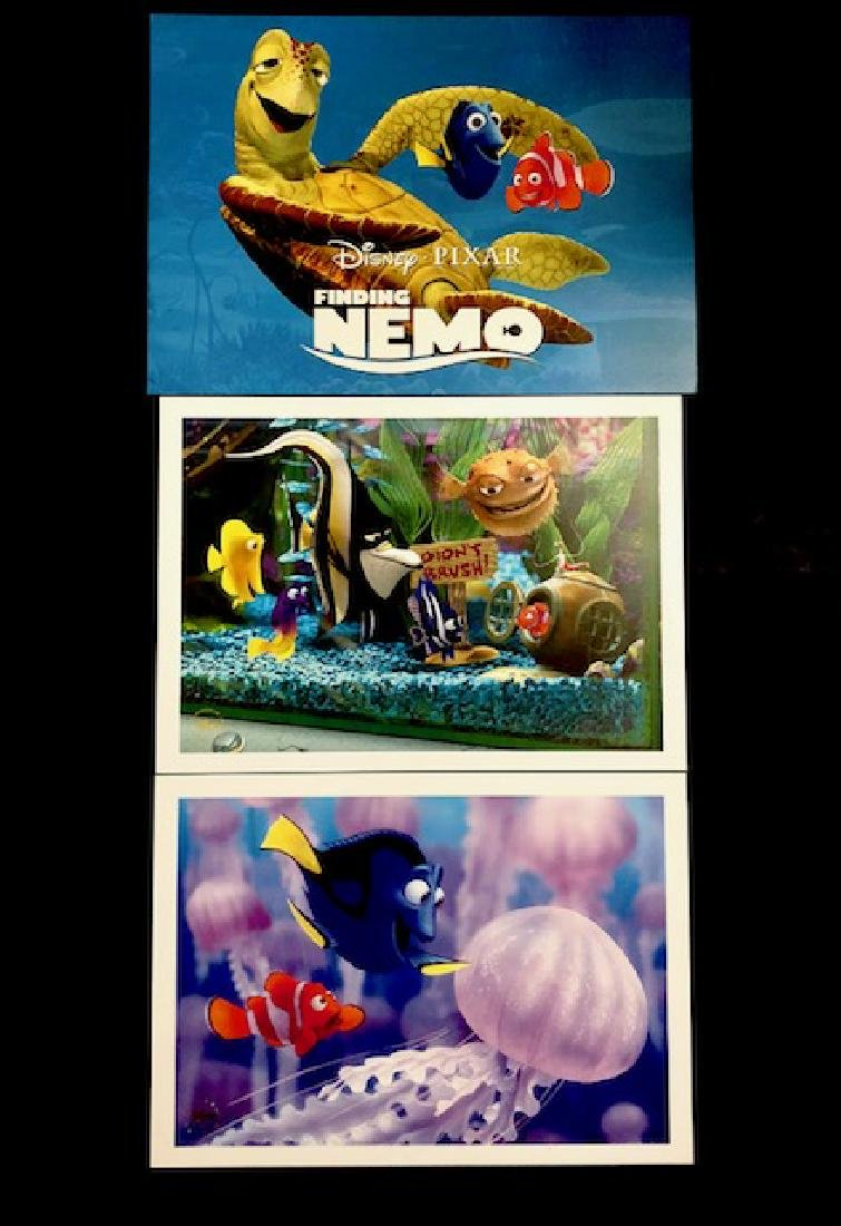 Lot of 2 Disney Pixar FINDING NEMO Movie Lithographs