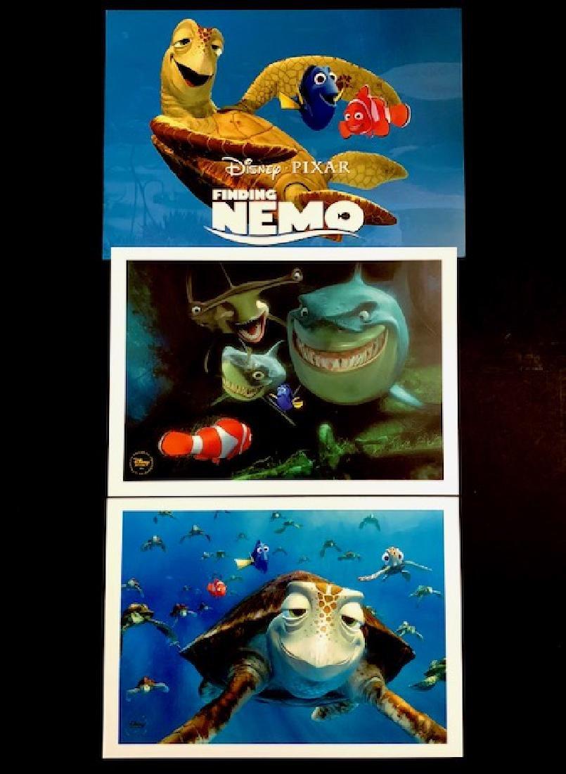 Lot of 2 Disney Pixar FINDING NEMO Movie Lithographs