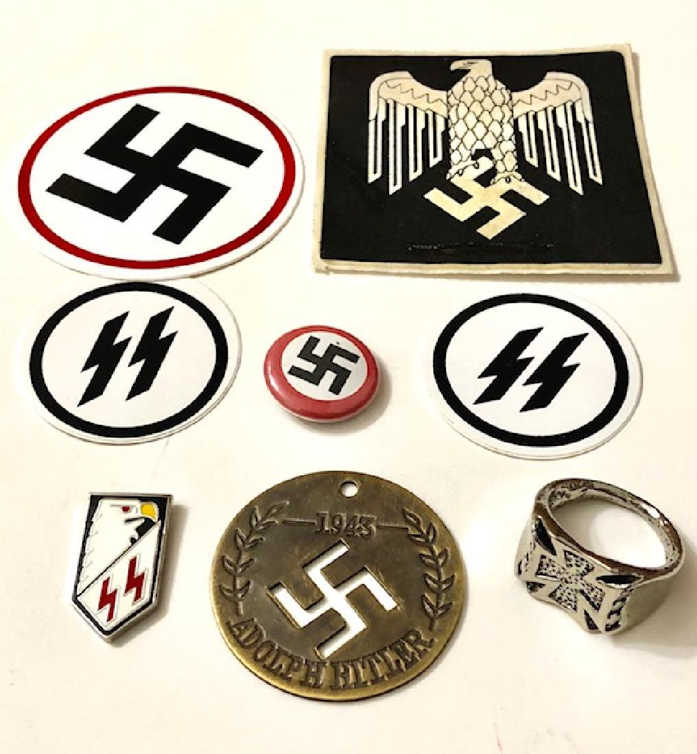 Nazi/Germany/Hitler Junk Drawer Collectibles Lot (1)