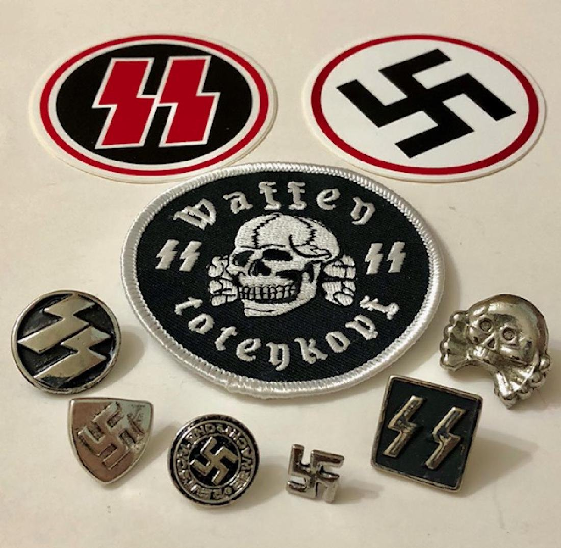 Nazi/Germany/Hitler Junk Drawer Collectibles Lot (3)