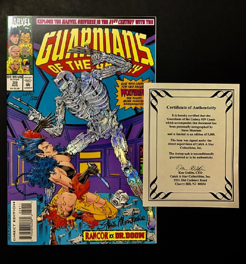 Authentic Sign GUARDIANS of the GALAXY Comic Book