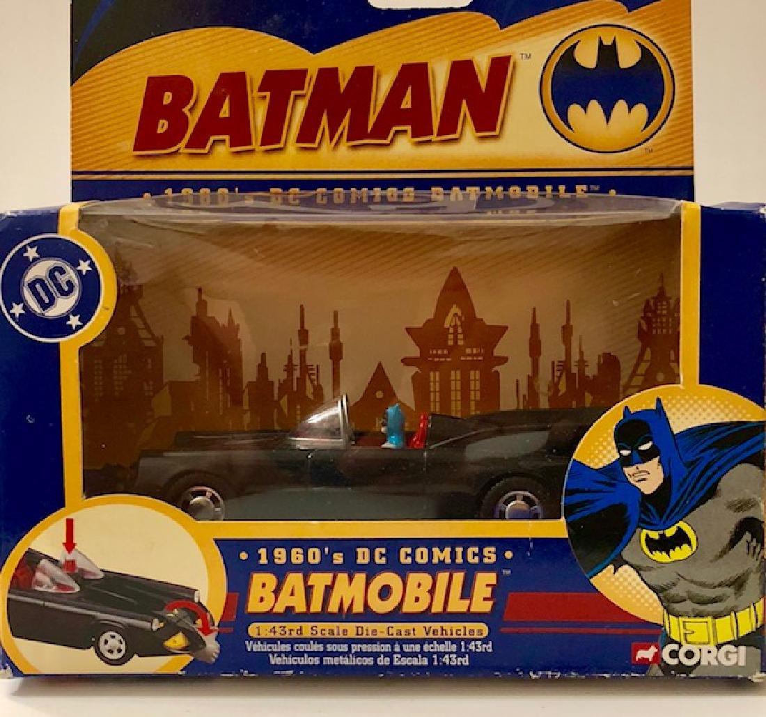 Vintage 1960's Die-Cast CORGI Toys BATMAN BATMOBILE