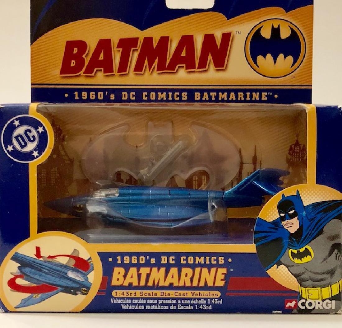 Vintage 1960's Die-Cast CORGI Toys BATMAN BATMARINE