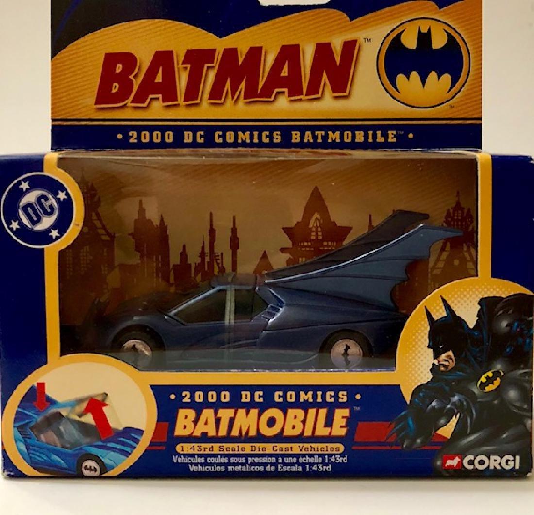 Vintage DC Comics CORGI Toys Die-Cast BATMAN Batmobile
