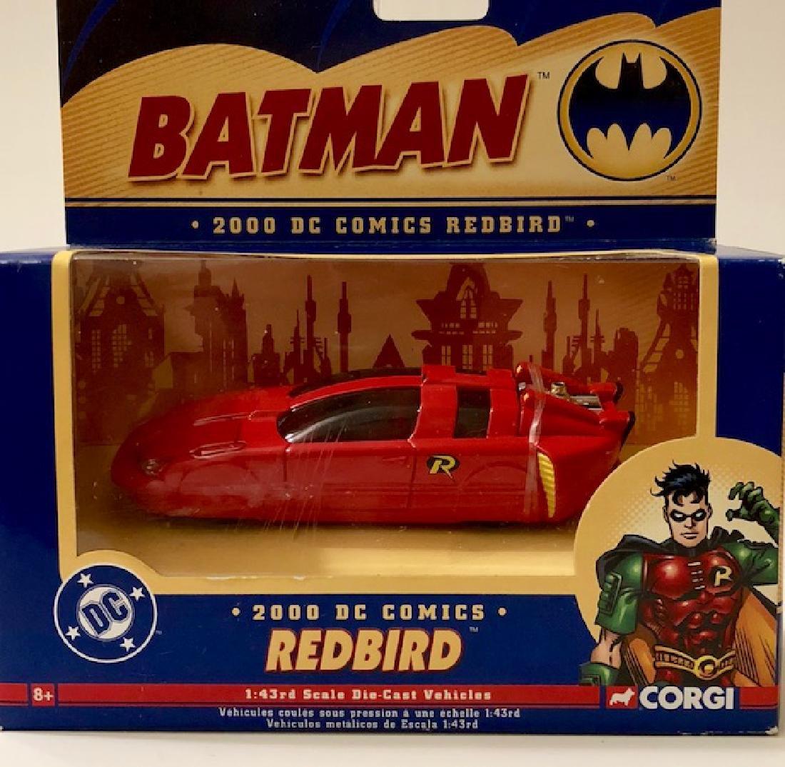 Vintage CORGI Toys Die-Cast BATMAN - ROBIN'S REDBIRD