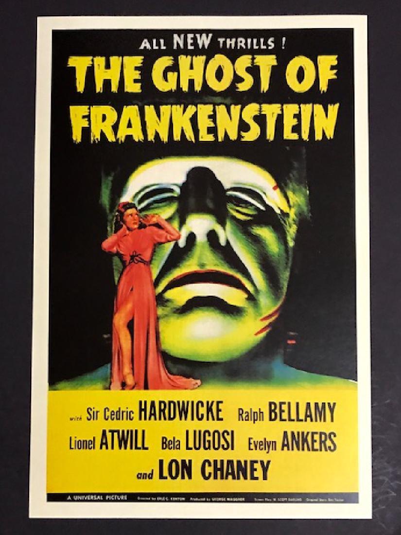 1942 Frankenstein Movie Theatre Lobby Card Poster