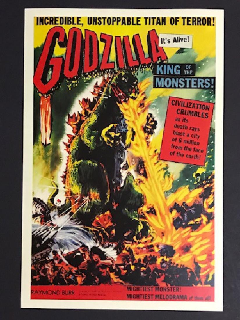 1956 GODZILLA Movie Theatre Lobby Card Poster