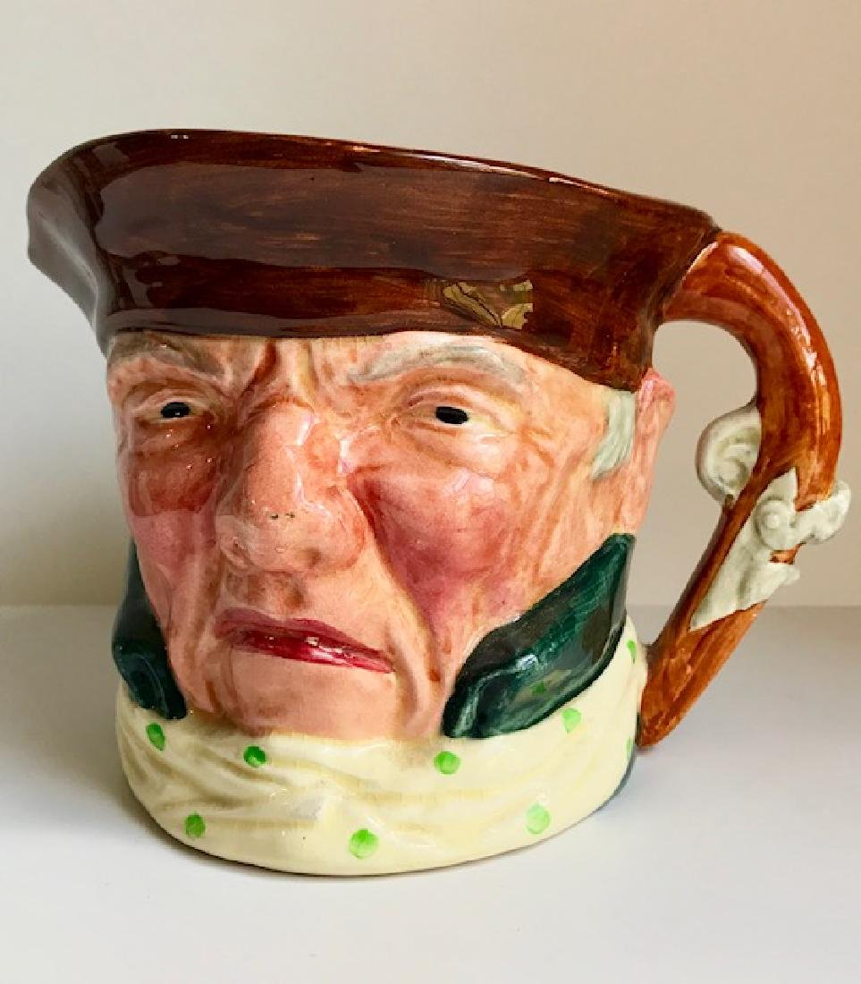 Early Staffordshire England Large Character Toby Mug
