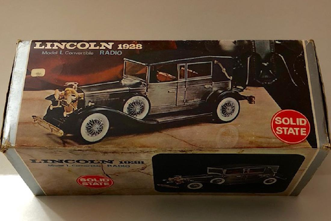 Rare/Vintage 1928 Lincoln Model L Car - Radio by Solid