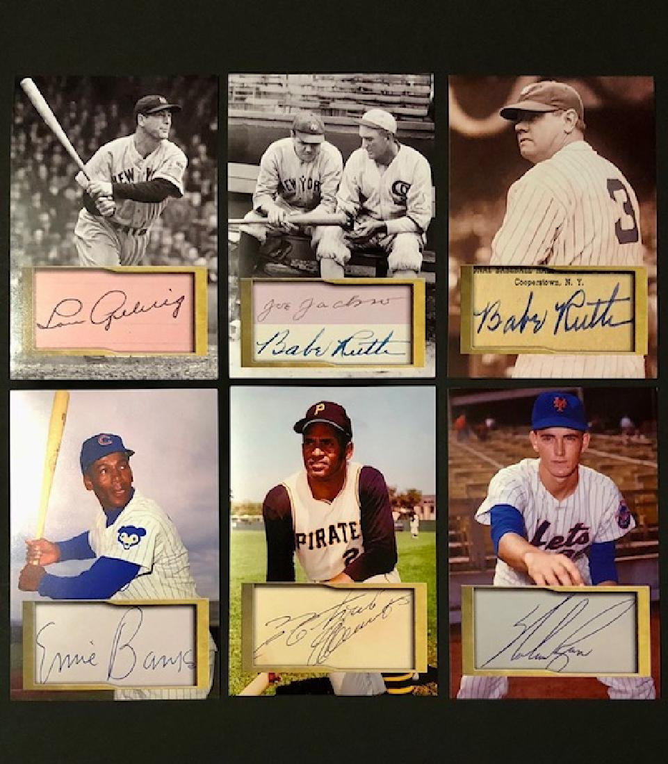 BABE RUTH/LOU GEHRIG & More Autographed Photos