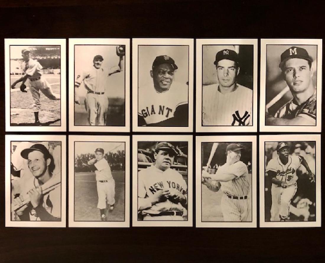 Lot of 10 Vintage Original Hall of Fame Issue Baseball