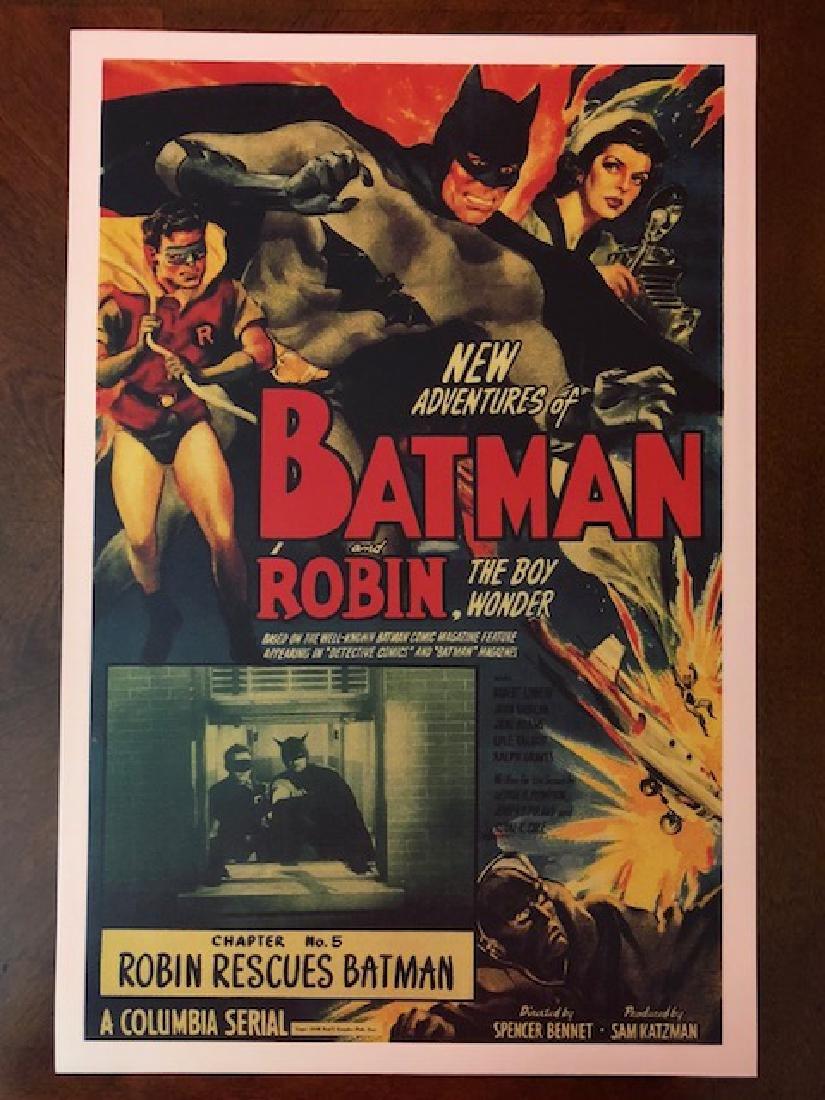 New Adventures of BATMAN & ROBIN Movie Lobby Card