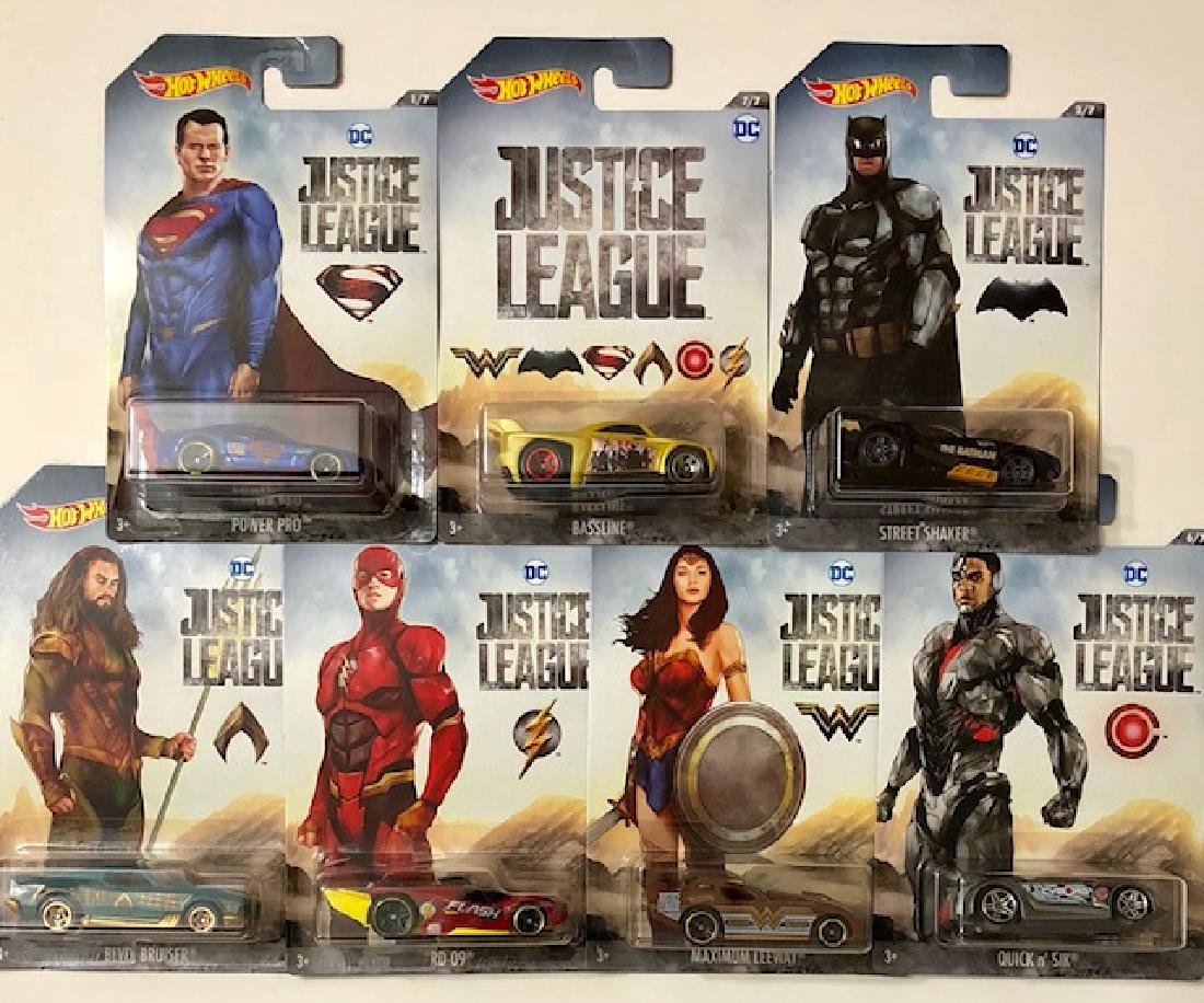 LTD Release DC Comics JUSTICE LEAGUE Die-Cast Hot