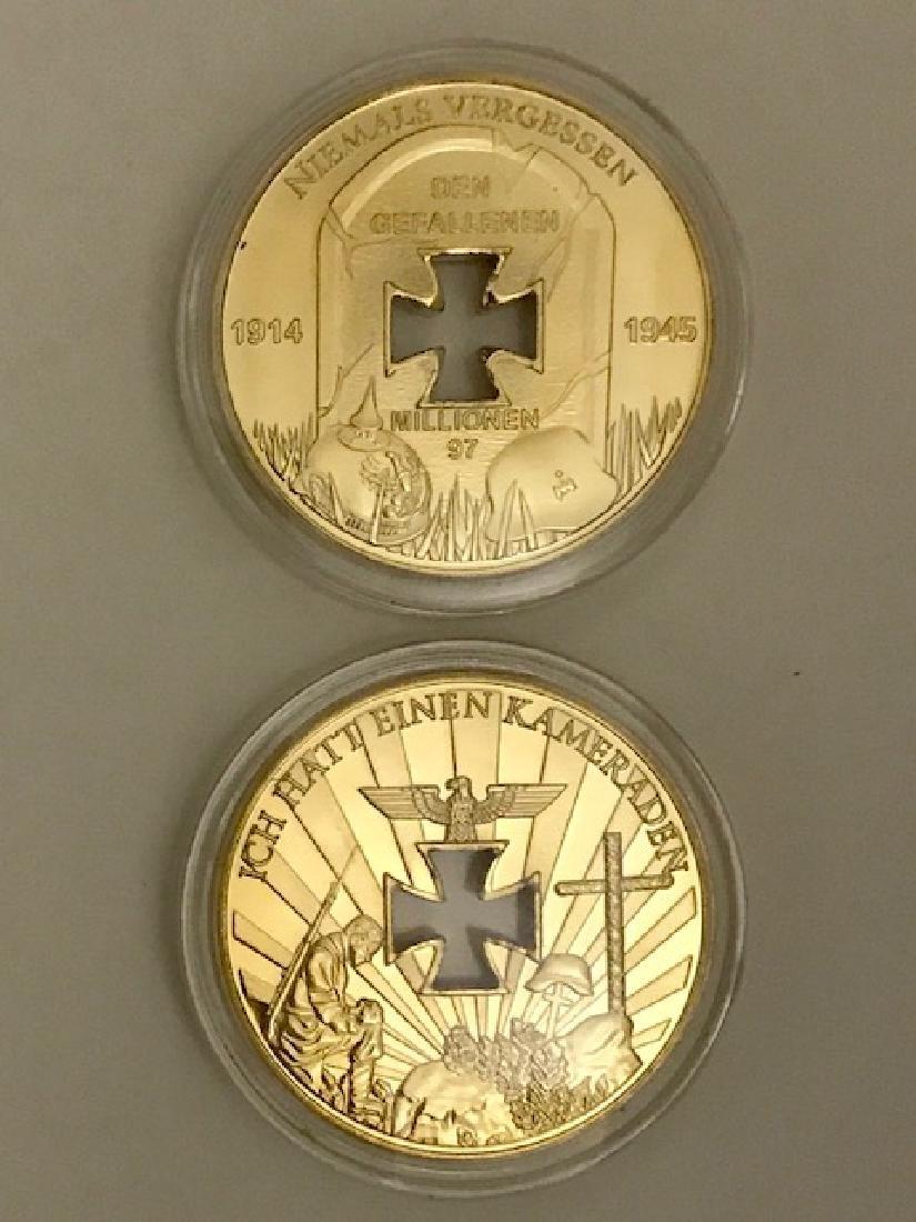 "1oz .999 Gold Clad WW2 German ""The Fallen"" Coin"