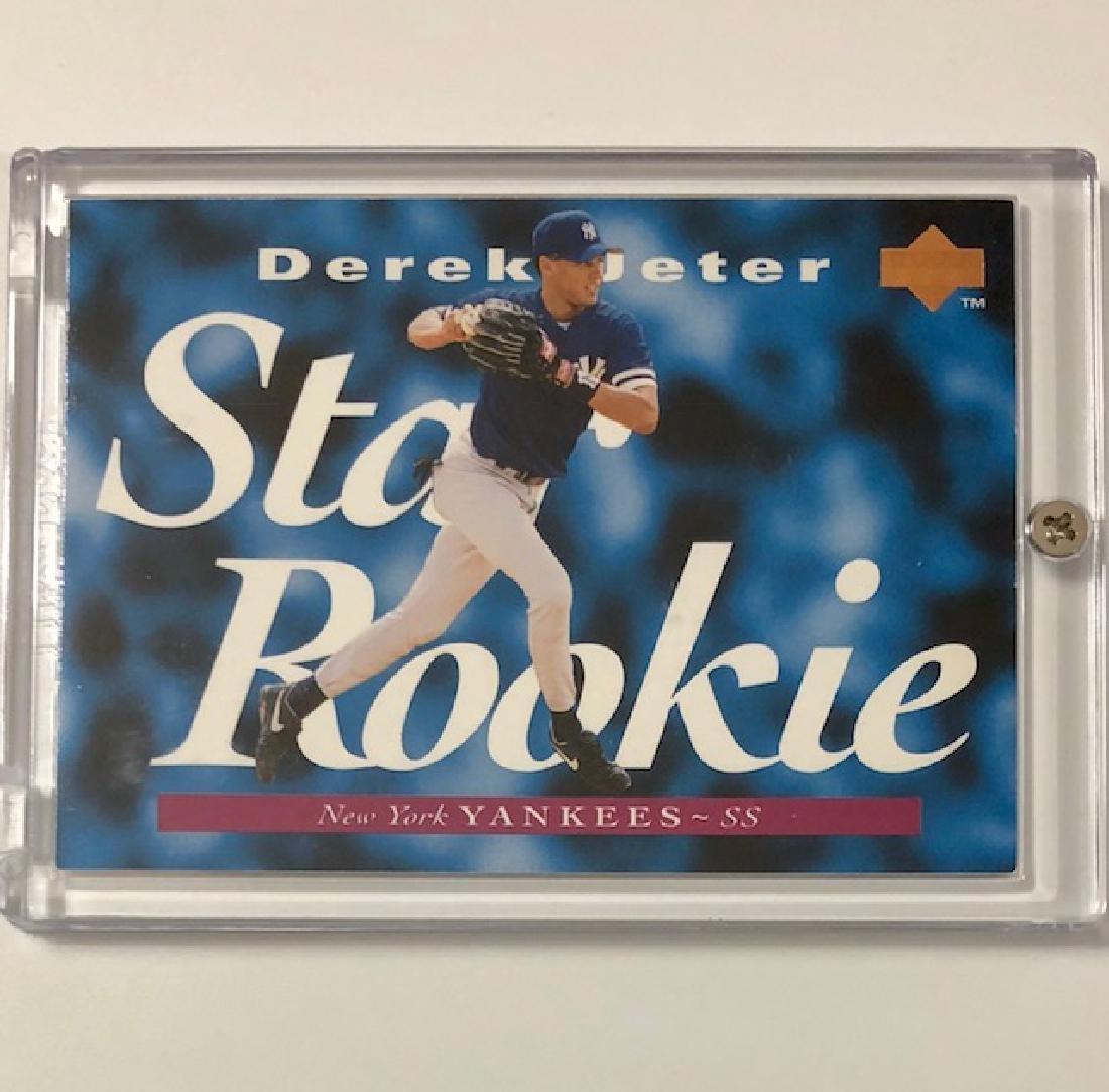 Mint DEREK JETER Upper Deck Rookie Baseball Card