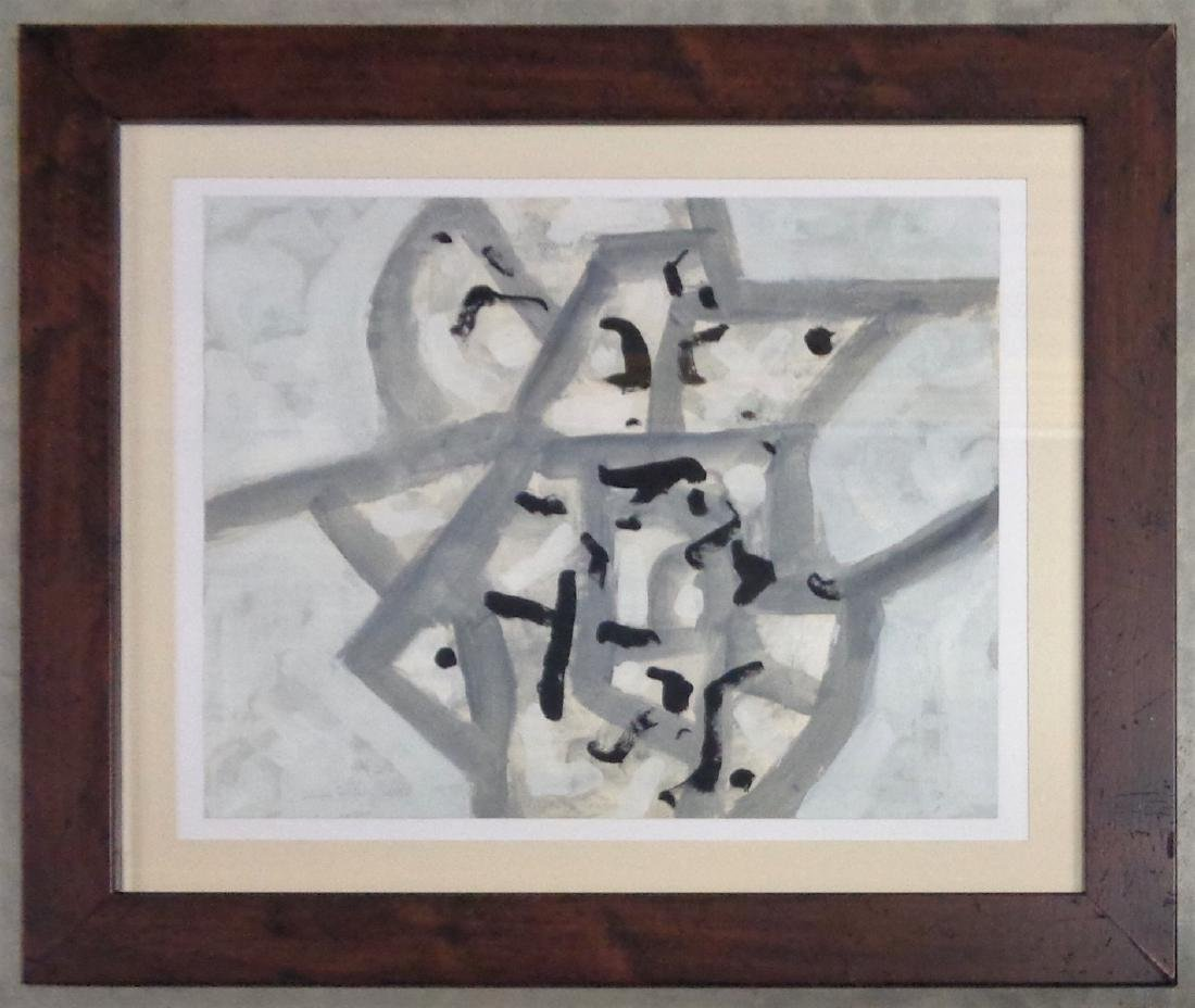 GOUACHE ON PAPER SIGNED ADOLPH GOTTLIEB