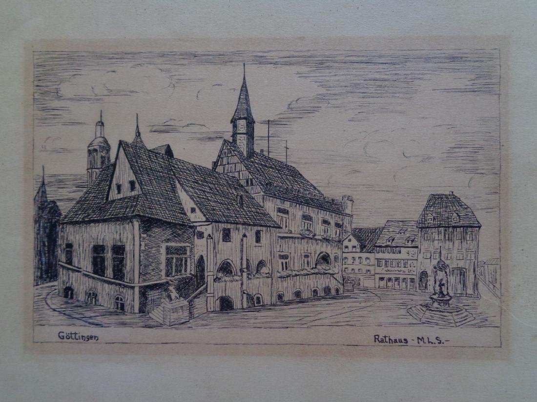 RATHAUS INK ON PAPER