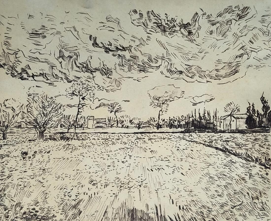 Vincent Ink On Paper