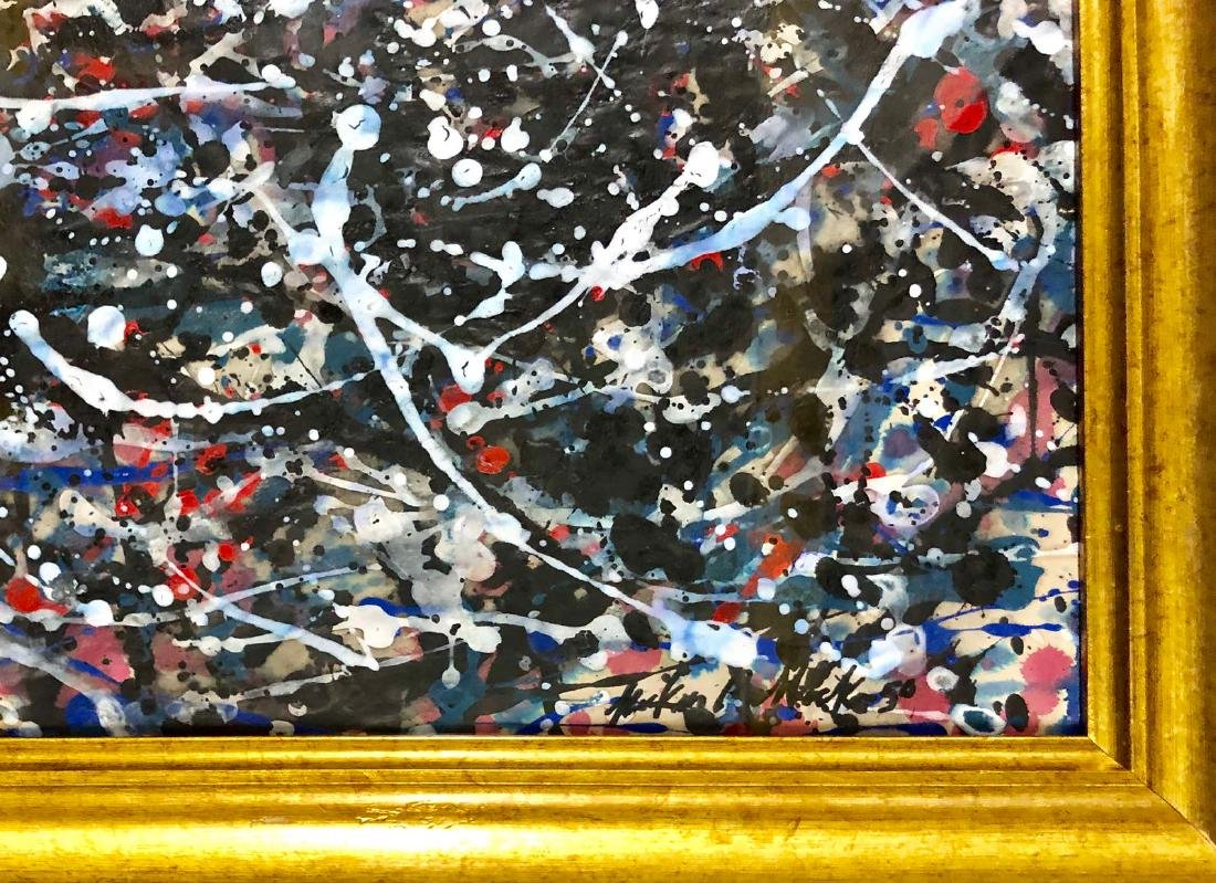 MIXED MEDIA ON PAPER SIGNED JACKSON POLLOCK - 2