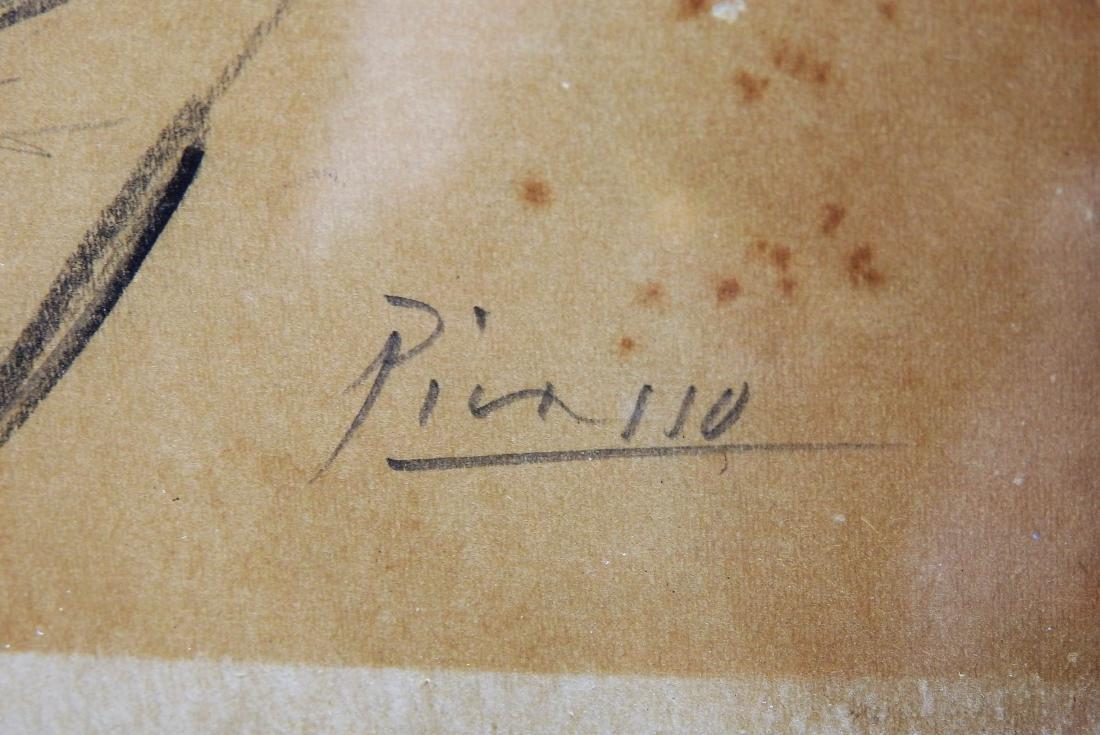 PICASSO GRAPHITE ON PAPER - 3