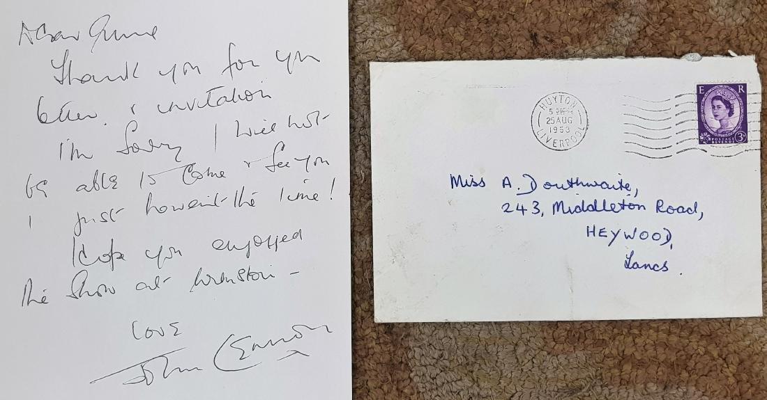 Original John Lennon  letter to Fan Aunt Mimi