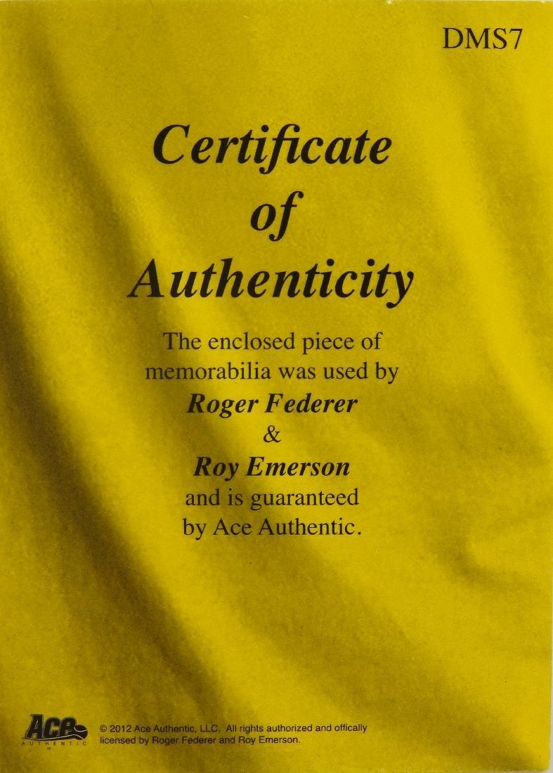 Roger Federer Roy Emerson Memorabilia - 2