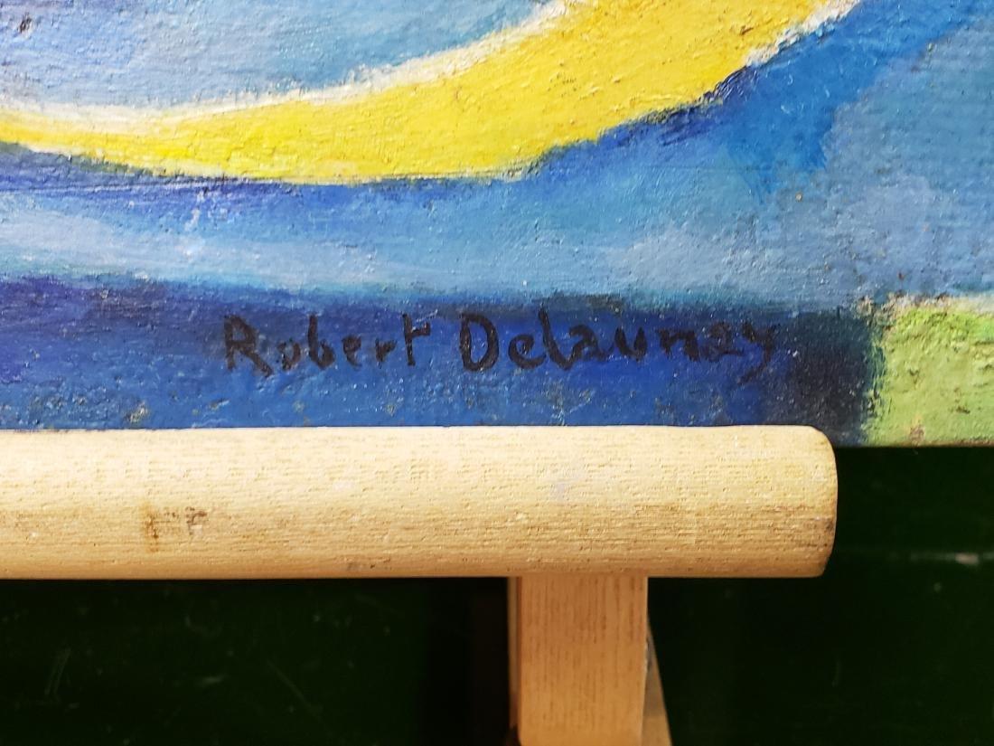 MANNER OF Robert DELAUNAY (1885-1941) OIL ON CARTON - 2