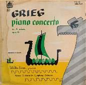 Greig Piano Concerto Vinyl