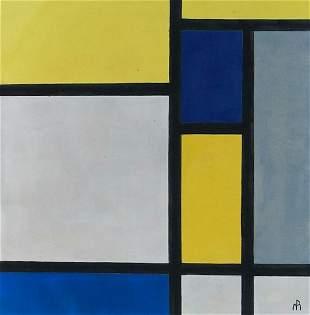 Piet Mondrian style