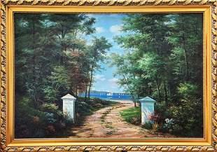 Unknown Artist oil on canvas