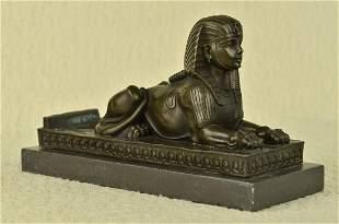 Milo Sphinx Egyptian Bronze