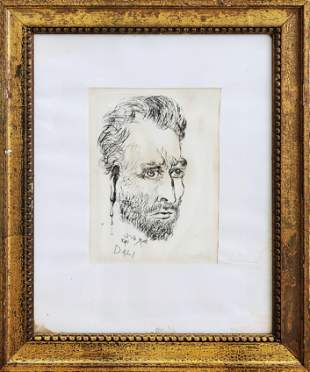 Salvador Dali Engraving