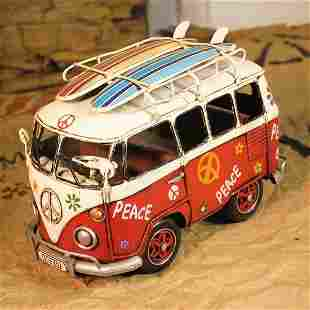 VW Peace Antique Figurine