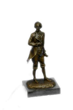 Milo Thomas Jefferson Bronze