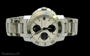 Vintage Baume and Mercier Automatic Chronograph Watch.