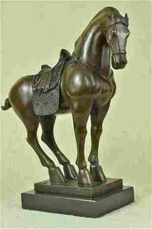 Barye Tang Dynasty Bronze Sculpture