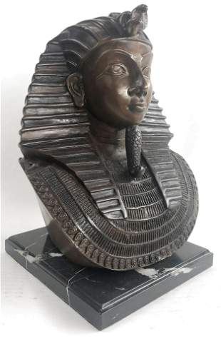 Thomas Egyptian Pharaoh Bust