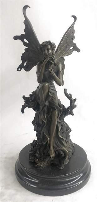 Cezaro Fairy Art Nouveau Bronze