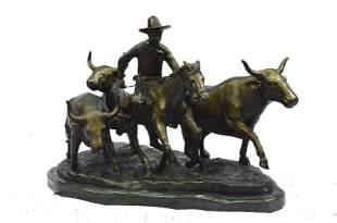 Remington Stampede Western Bronze
