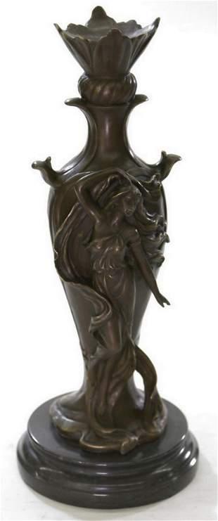 J.erte Art deco Vase Bronze