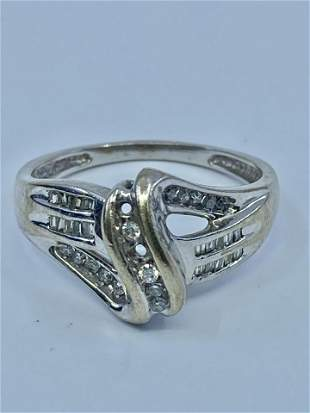 Vintage Ladies Diamond ring