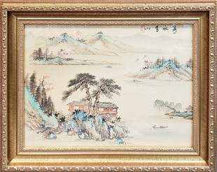 ANTIQUE CHINESE SIGNED PAINTING